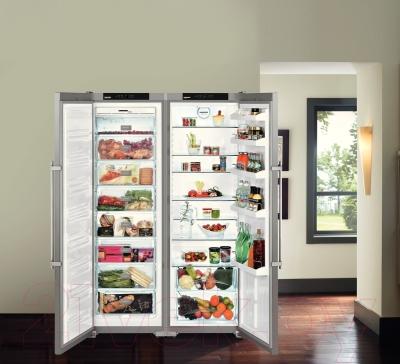 Холодильник с морозильником Liebherr SBSesf 7212