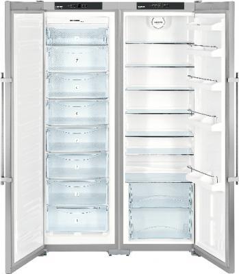 Холодильник с морозильником Liebherr SBSesf 7212 - внутренний вид