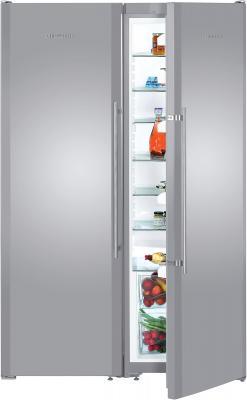 Холодильник с морозильником Liebherr SBSesf 7212 - общий вид