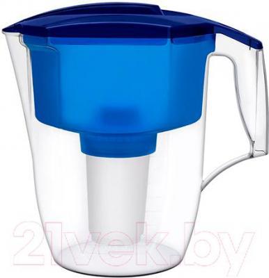 Фильтр питьевой воды Аквафор Гарри с дополнительным модулем (синий) - общий вид