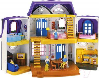 Кукольный домик RedBox Кукольный домик 22946 - вид изнутри