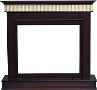 Портал для камина Смолком Murano FS33W (темный орех) -