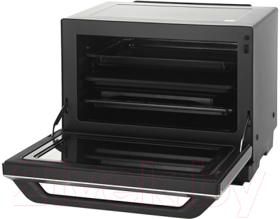 Микроволновая печь Panasonic NN-CS894B - с открытой дверцей