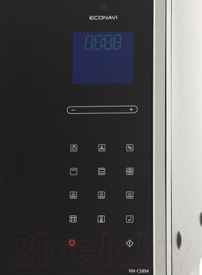 Микроволновая печь Panasonic NN-CS894B - панель
