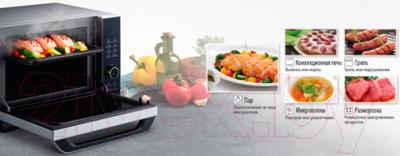 Микроволновая печь Panasonic NN-CS894B - презентационное фото 5