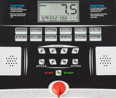 Электрическая беговая дорожка Sundays Fitness T2000D - экран и программные кнопки