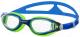 Очки для плавания Atemi B601 (синий/салатовый) -