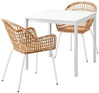Обеденная группа Ikea Мельторп/Нильсове 792.972.96 -