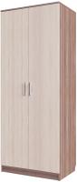 Шкаф SV-мебель Спальня Эдем 5 двухстворчатый (ясень шимо темный/ясень шимо светлый) -