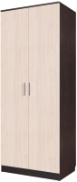 Шкаф SV-мебель Спальня Эдем 5 двухстворчатый (дуб венге/дуб млечный) -