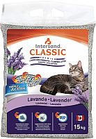 Наполнитель для туалета Intersand Classic Lavender / 30206 (15кг) -