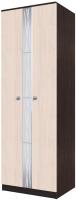 Шкаф SV-мебель Гостиная Гамма 15 (дуб венге/дуб млечный) -