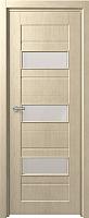Дверь межкомнатная Юркас Fix F-5 80x200 (сатинато белое/беленый дуб) -