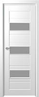 Дверь межкомнатная Юркас Fix F-5 80x200 (сатинато белое/белый) -