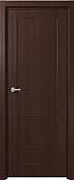 Дверь межкомнатная Юркас Fix F-1 90x200 (венге) -