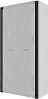 Шкаф SV-мебель Гамма 20 комбинированный (ясень анкор светлый/венге) -