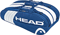 Сумка теннисная Head Core Monstercombi / 283543 (синий/белый) -
