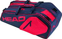 Сумка теннисная Head Core 6R Combi NVRD / 283547 -