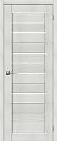 Дверь межкомнатная Юркас Stark ST1 70x200 (мателюкс/бьянко) -