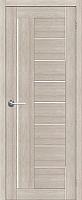 Дверь межкомнатная Юркас Stark ST3 70x200 (мателюкс/капучино) -