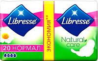 Прокладки гигиенические Libresse Natural Care Normal (20шт) -