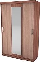 Шкаф SV-мебель Спальня Эдем 5 (ясень шимо темный/ясень шимо светлый) -