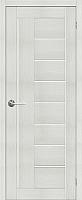 Дверь межкомнатная Stark ST3 80x200 (мателюкс/бьянко) -