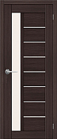 Дверь межкомнатная Юркас Stark ST4 80x200 (мателюкс/венге) -