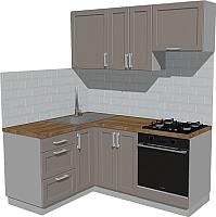 Готовая кухня Оптима by ZOV Трент ВТ1-001КБ 150x180 (ясень/меланж) -