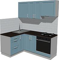 Готовая кухня Оптима by ZOV Трент ВТ0-001ЕБ 150x180 (деним) -