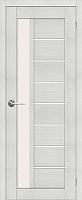 Дверь межкомнатная Юркас Stark ST4 70x200 (мателюкс/бьянко) -