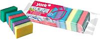 Набор губок для мытья посуды York Миди (10шт) -