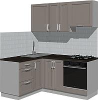 Готовая кухня Оптима by ZOV Трент ВТ1-001ЕБ 150x180 (ясень/меланж) -