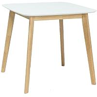 Обеденный стол Signal Mosso III (белый/дуб) -