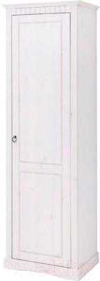 Шкаф-пенал Dipriz Неаполь Д 7111-12 (белый воск)
