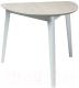 Обеденный стол Signal Karl (беленый дуб/белый) -