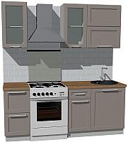 Готовая кухня Оптима by ZOV Трент ВТ1-007КБ 200 (ясень/меланж) -