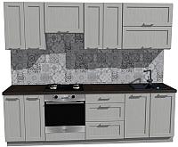 Готовая кухня Оптима by ZOV Трент ВТ2-010ЕБ 260 (ясень/светло-серый) -