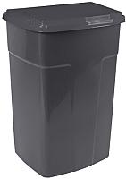 Контейнер для мусора Алеана 122062 (темно-серый) -