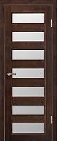Дверь межкомнатная Юркас Vi-Lario ДО Премьер плюс 60x200 (венге) -