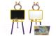 Мольберт детский Doloni 0137770/4 (желтый/фиолетовый) -