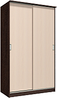 Шкаф Интерлиния Неаполь АН-011-13-00 (БФ) (дуб молочный/дуб венге) -