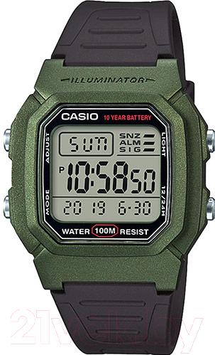 Купить Часы наручные мужские Casio, W-800HM-3AVEF, Китай