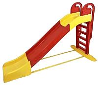Горка Doloni Большая 014550/3 (красный/желтый) -