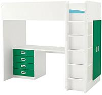 Кровать-чердак Ikea Стува/Фритидс 192.687.15 -
