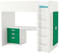 Кровать-чердак Ikea Стува/Фритидс 592.677.47 -