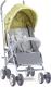 Детская прогулочная коляска Lorelli Ida Elephant / 10021311937A (green/grey) -
