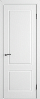 Дверь межкомнатная Юркас Colorit К1 ДГ 80x200 (белая эмаль) -