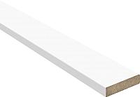 Притворная планка Юркас Colorit 9.5x30x2100 (белая эмаль) -
