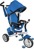 Детский велосипед с ручкой Lorelli Fast / 10050091606 (blue/white) -